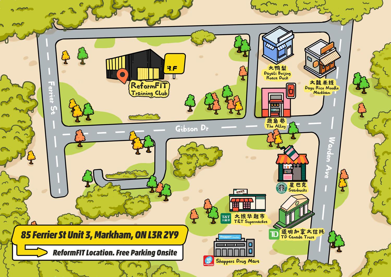 ATME - ReformFIT map